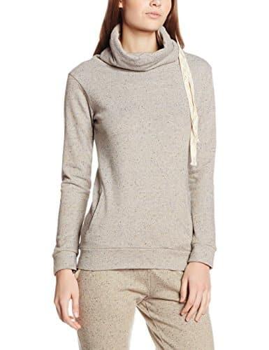 LingaDore BO Jogging Sweater L/M, Haut de Pyjama Femme, Gris (Grijs), 38