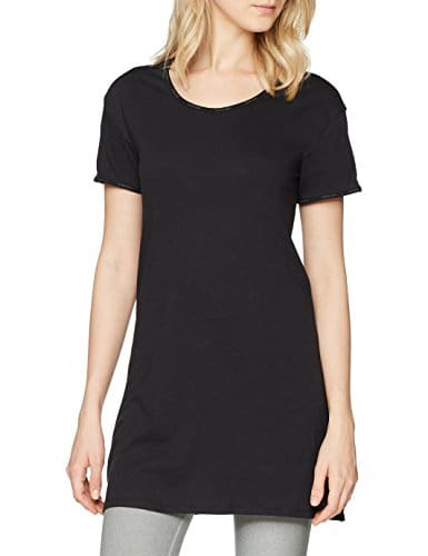 Calvin Klein S/s Nightshirt, Haut de Pyjama Femme, Noir (Black 001), 36 (Taille Fabricant: X-Small)