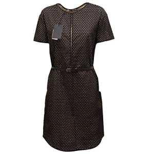 Dsquared2 3239Q Abito Donna Dsquared D2 Cotone Beige/Nero Dress Woman [46]