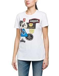 Replay W3791r.000.20994, T-Shirt Femme, Blanc (Optical White 1), Medium