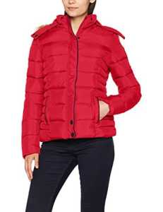 Kaporal Buffy, Blouson Femme, Rouge (Red), Large (Taille Fabricant: L)