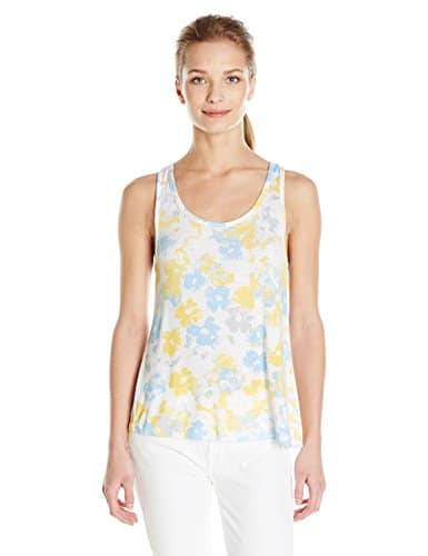 Splendid Tank, Haut de Pyjama Femme, Multicolore-Multicoloured (Sunshine Floral), Medium