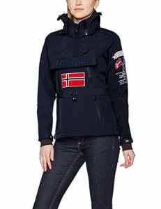Geographical Norway TULBEUSE Lady 005, Veste de Sport Femme, Bleu Navy, Small
