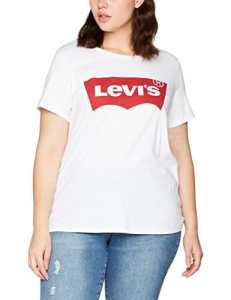 Levi's Plus Size Pl Perfect Tee, T-Shirt Femme, Blanc (Plus Batwing White 0000), XX-Large