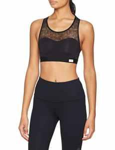 Sloggi Women Move Flex Top, Base Layers De Sport Femme, Noir (Black 0004), M