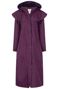 Lighthouse Manteau imperméable – Duffle Coat – Femme Violet Violet 50