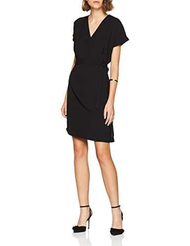 Morgan 182-ROTTO.F, Robe Femme, (Noir 100), 38 (Taille Fabricant: T38)