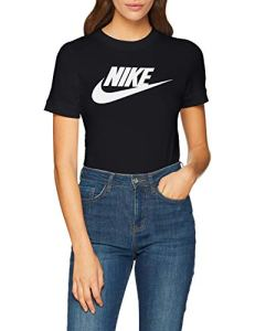 Nike Essential Sportswear Body Femme, Black/(White), FR : S (Taille Fabricant : S)