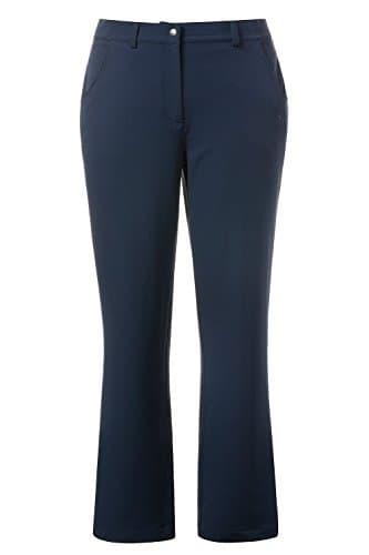 Ulla Popken Hose 4wege-Stretch, Pantalon Femme, Bleu (Blau 77), W45/L34 (Taille Fabricant: 56)