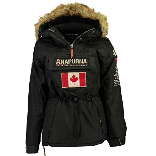 Anapurna – Veste de Ski – Chasuble – Femme – Rouge (5, Black)