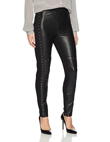 BCBGMAXAZRIA Femme DTP2H037 Leggings – Noir – Taille XS
