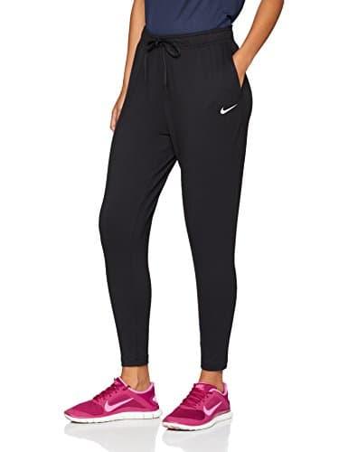 Nike W NK Flow Vctry Pant, Pantalon De Sport Femme, Noir (Black/White 010), 48 (Taille Fabricant: X-Large)