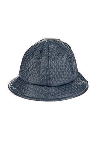 zaza imperméable Seau Chapeau de pluie – Bleu, Taille Unique, One size