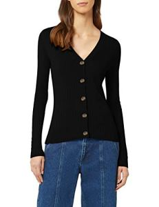 find. Phrm3567 Cardigans, Noir (Black), 42 (Taille Fabricant: Large)