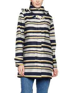 Tom Joule Haven, Manteau Manches Longues Femme, Multicolore (Multi Stripe Multstp), 42 (Taille fabricant: L)