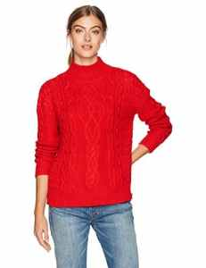 Velvet by Graham & Spencer Femme INGRID03 Sweat – Rouge – Taille L