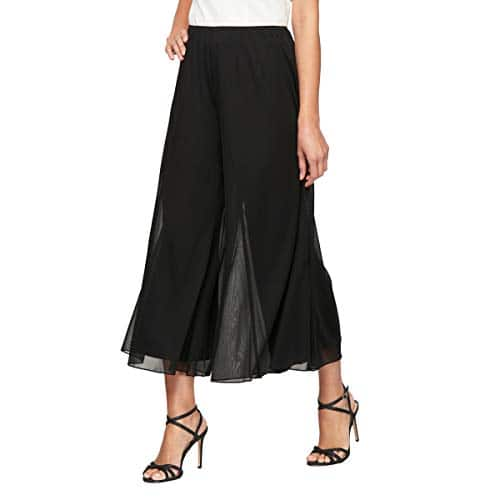 Alex Evenings Femme Pantalons habillés (Petit et régulier) Pantalon habillé – Noir – Taille XL