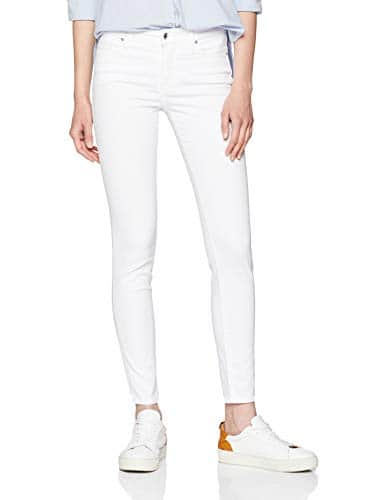 Armani Exchange J01 Super Skinny Denim Pantalon, Blanc (Optic White 1000), W30/L32 (Taille Fabricant: 30) Femme