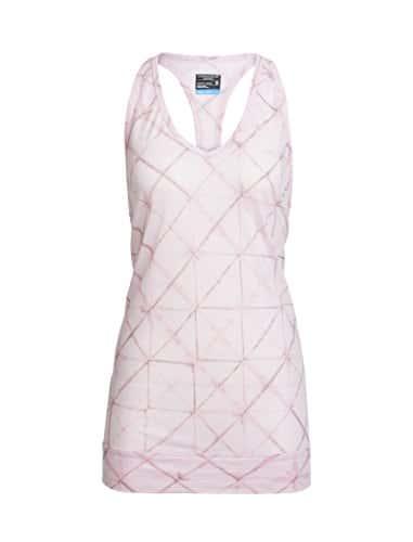 Icebreaker Nomi Prism T- T-Shirt de Yoga Femme, Glow/Lily, FR : L (Taille Fabricant : L)