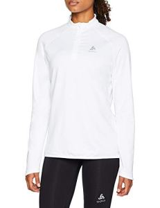 Odlo Carve Light Pull Femme, Blanc, FR : M (Taille Fabricant : M)