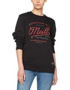 O'Neill Type Crew Sweatshirts, Femme, Type Crew Sweatshirt, Black Out