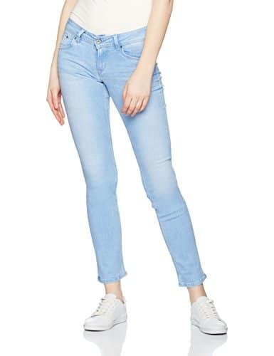 Pepe Jeans Saturn, Jeans Femme Bleu (Light Denim) W28/L32 (Taille fabricant: 28)