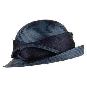 Whiteley Chapeau Cloche Molly Bleu Marine Taille Unique