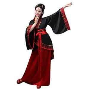 ZEVONDA Femmes Classique Costume Tang Costume Traditionnel Chinois Ancien Hanfu Robes Spectacle Performances Cosplay, Style-1/M