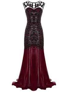 FAIRY COUPLE Robe de Vintage/ Robe de Bal Cérémonie pour Femme A Burgundy XL
