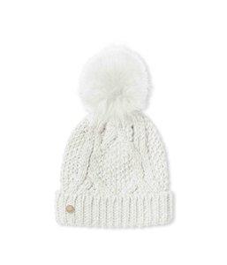 Katie Loxton Cable Knit Dames Hiver crème Bobble chapeau
