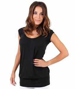 KRISP Top Long Uni (7604-BLK-18), Noir (7604), 46