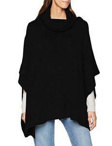 Mavi Pancho, Poncho Femme, Noir (Black 900), Large (Taille Fabricant: L/)