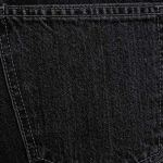 MONYRAY Jeans Mom Taille Haute Femme Slim Fit Pantalon Décontracté en Denim Chic à la Mode Noir délavé FR40/42 (Tag 27)