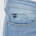 ONLY NOS Onlcoral SL SK Jeans BB Cre185063 Skinny, Bleu Light Blue Denim, 36 /L32 (Taille Fabricant: 27.0) Femme