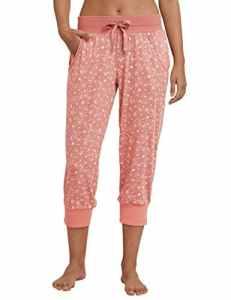 Schiesser Mix & Relax Jerseyhose 3/4 Lang Bas De Pyjama, Rouge (Terracotta 532), 40 (Taille Fabricant: 038) Femme