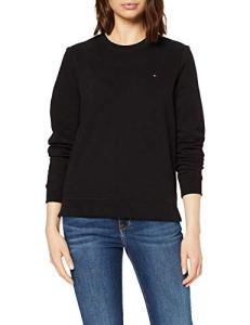 Tommy Hilfiger Heritage Crew Neck Sweatshirt Sweat-Shirt Femme,Noir (Masters Black 017) , XX-Large