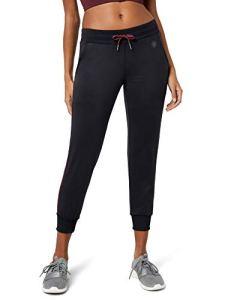 AURIQUE Bas de Jogging Femme, Noir (Black/Port Royale), 38 (Taille Fabricant: Small)