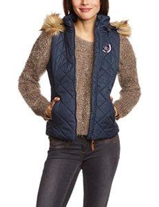 Berydale veste matelassée cintrée d'extérieur pour femmes, Bleu, 36