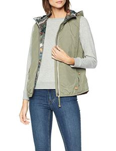 Camel Active Womenswear 360930 Veste de Sport sans Manches, Vert (Light Khaki 36), 50 (Taille Fabricant: 48) Femme