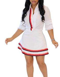 dahuo – Jupe – Femme – Blanc – M