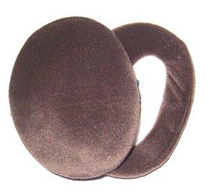 Earbags Bandless Protections rechauffantes pour Les Oreilles/protège-Oreilles Velours Marron – Medium