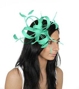 Hats By Cressida – Bandeau – Femme Vert Jade