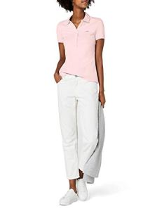 Lacoste PF7845 Polo, Rose (Multicolore Flamant), (Taille Fabricant : 44) Femme