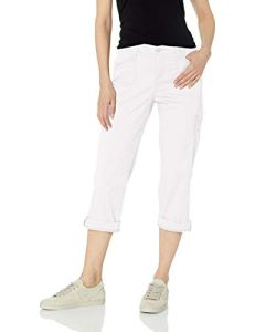 LEE Women's Flex-to-go Relaxed Fit Cargo Capri Pant