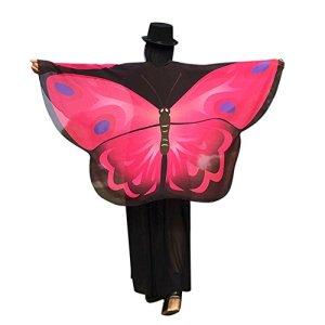 LILICAT Femmes Papillon Ailes Châle Lâche Kimono Cardigan Top Shirt Blouse Accessoire Élégant Automne Et Hiver De Noël