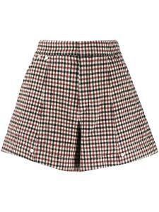 Chloé Femme Chc19ash240669j0 Bordeaux Laine Shorts
