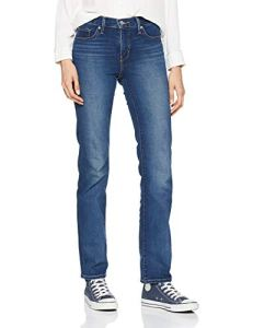 Levi's 314 Shaping Straight Jean Droit, Bleu (Shaker Maker 0054), W31/L34 (Taille Fabricant: 31 34) Femme