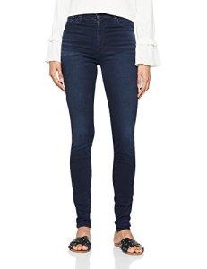 Levi's Mile High Super Skinny Jean, Bleu (Make A Mark 0056), W32/L32 Femme