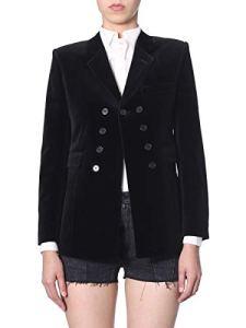 Saint Laurent Femme 564710Y615w1000 Noir Coton Blazer