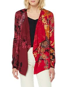 Desigual Pullover Adriana Pull, Rouge (Merlot 3215), Medium Femme